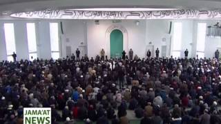 Urdu Report: Khutba Juma 21 February 2014 - Musleh Maud: The Prophecy and The Man