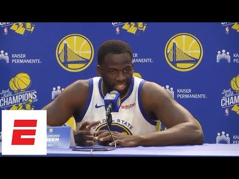 [FULL] Draymond Green press conference: 'None of us are ready for this run to come to an end' | ESPN