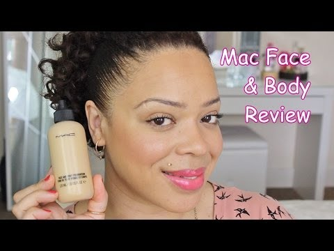 Mac Face & Body Foundation Review and Demo