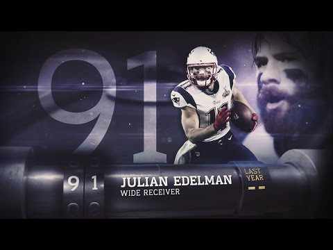 #91 Julian Edelman (WR, Patriots) | Top 100 Players of 2015