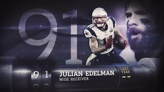 91 julian edelman wr patriots   top 100 players of 2015