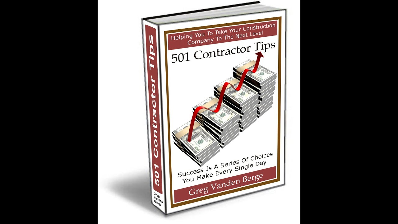 profit and loss statement contractor business tip 144 youtube