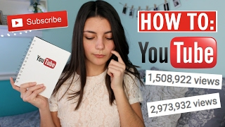 how to grow your youtube channel from nothing