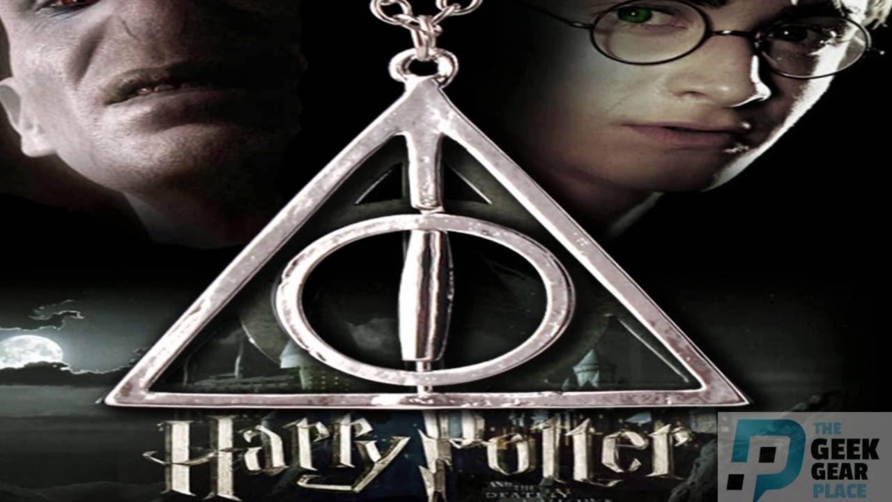 Deathly hallows triangle necklace harry potter youtube deathly hallows triangle necklace harry potter biocorpaavc Choice Image