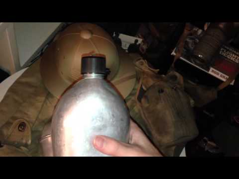 How To Spot A Fake WW2 U.S Canteen