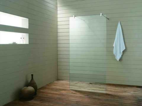 glass shower screen for bath