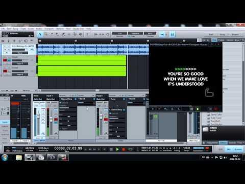 presonu studio one  (2) test recording a karaoke song