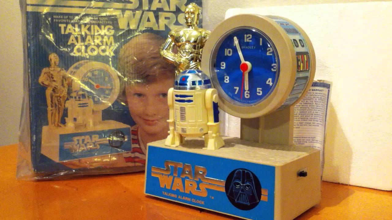 Star Wars C 3po R2 D2 Alarm Clock