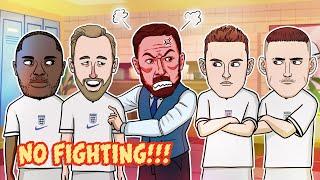 England vs Germany Half Time Pep Talk Peaky Blinders Style Euro 2020 Cartoon Parody
