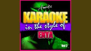 Orinoco Flow (In the Style of Enya) (Karaoke Version)