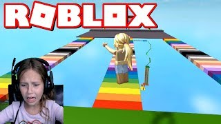 SUPER FUN EASY OBSTACLE COURSE OBBY IN ROBLOX! Je ne suis pas CRYING, je PROMISE 'COUGHS'