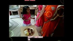 Neenda neenda kalam BIRTHDAY SONG TAMIL#  HUMSHITHA 3rd BIRTHDAY CELEBRATION