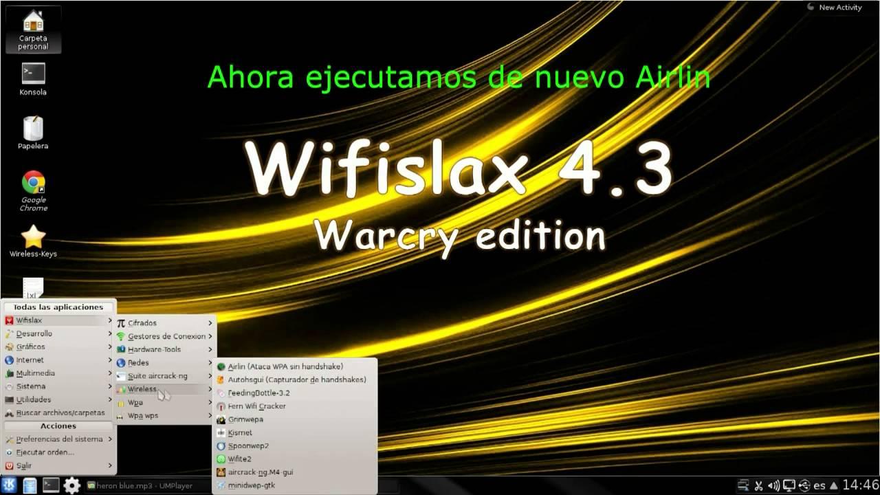 wifislax 4.3 reaver