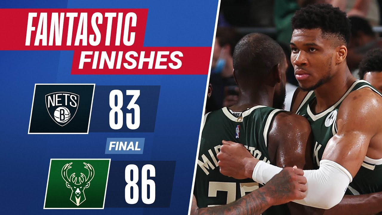 Relive The Thrilling Final 2:32 In Milwaukee 😱 | #FantasticFinishes