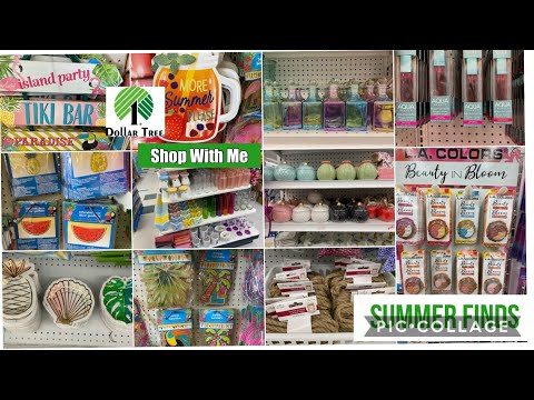 Dollar Tree What's New ? Dollar Tree 🌳 Shop With Me April 19,2020 Summer Finds At Dollar Tree 🇨🇦
