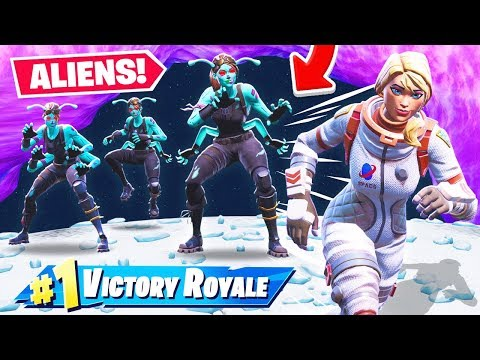 ESCAPE The ALIEN INVASION *NEW* Game Mode in Fortnite Battle Royale