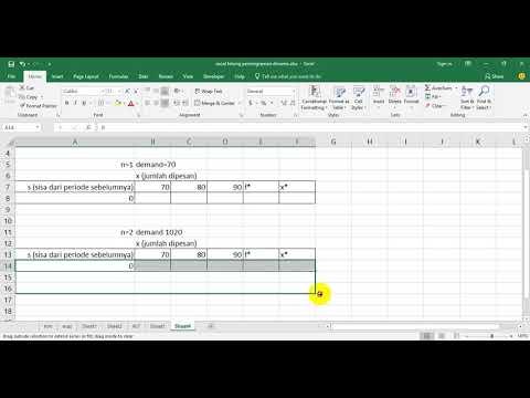 Dynamic Programming untuk Inventory dan DRP
