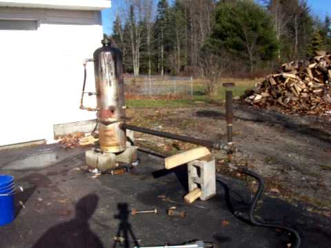 Gasifier With Burning Jet Ejector Suction Flare