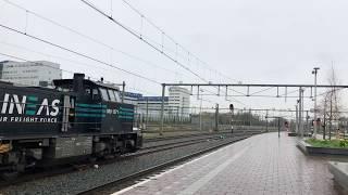 Vertrek LINEAS 1571 te Rotterdam CS