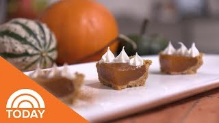 How To Make Mini Pumpkin Pie Shots | TODAY