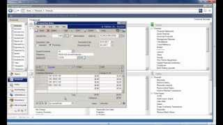 Microsoft Dynamics GP 2013 - How To Clear Recurring Amounts In General Ledger Transaction Entry