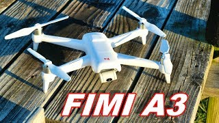 Xiaomi FIMI A3 Camera Gimbal Test & Flight Time Plus Range Sorta - TheRcSaylors