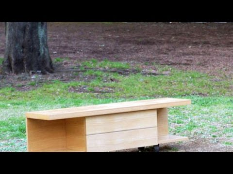 How To Make Cool Wooden TV Unit - DIY Home Tutorial - Guidecentral