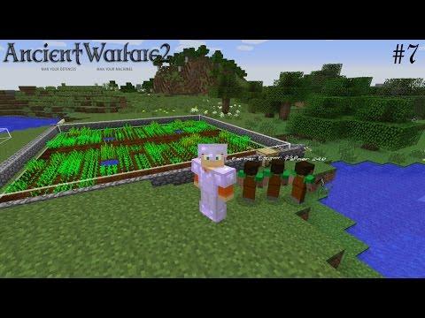 Ancient Warfare SMP! #7| Automated Farms! - Minecraft Mods