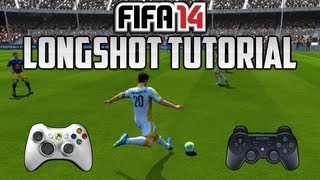 FIFA 14 - LONGSHOT / WEITSCHUSS TUTORIAL - DEUTSCH - [ XBOX 360 - PS3 - PC ] - HD