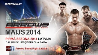 Arrows Street Fight Latvia: Pirmā sezona