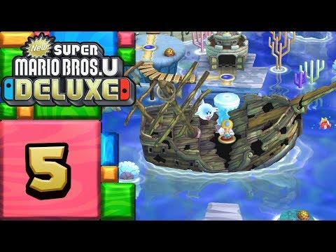 New Super Mario Bros. U Deluxe ITA [Parte 5 - Acque Frizzanti]