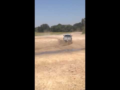 My Ford Raptor doing Donuts!