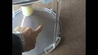 biconical wideband homemade antenna