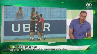 Denilson: Ceni acertou na escolha de ficar no Fortaleza