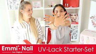 Tutorial: Nägel mit UV-Nagellack, Nägel die einfach länger halten – Emmi-Nail: UV-Lack Starter-Set