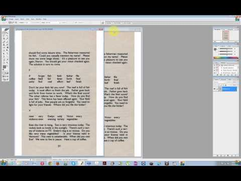 Converting Color/Grayscale Text Scans to Black & White - DIY Book