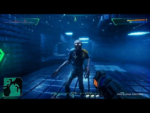System Shock Remake - NEW Gameplay Walkthrough Demo
