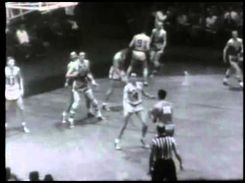 1953 NBA Finals Game 5. Minneapolis Lakers vs New York Knicks.(April 10th 1953)