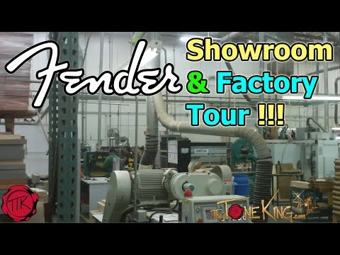 FENDER FACTORY TOUR