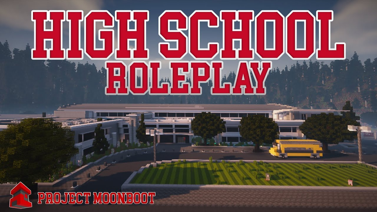 Minecraft - Modern High School