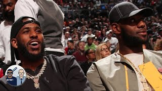 LeBron parties with Chris Paul and Russell Westbrook on Memorial Day | Jalen & Jacoby