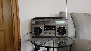 VIDEOTON RM 5642 ghettoblaster boombox 1986 sounding