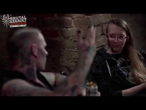 Brutal Assault 19 - Combichrist (interview by JV) 2014