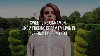 """I'm sorry for the high pitch. if i don't add it i'd have copyright issues. enjoy.""""radio"""" (also known as """"cinnamon"""") is a song by lana del rey that feature..."""