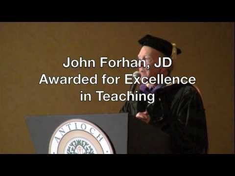 Antioch University Santa Barbara Commencement Speech: John Forhan