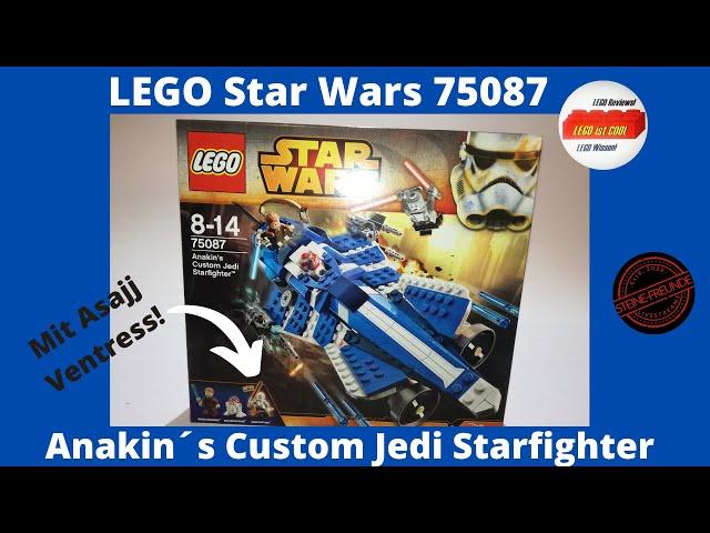 LEGO Star Wars 75087 Anakin's Costume Jedi Starfighter/Review deutsch+Unboxing