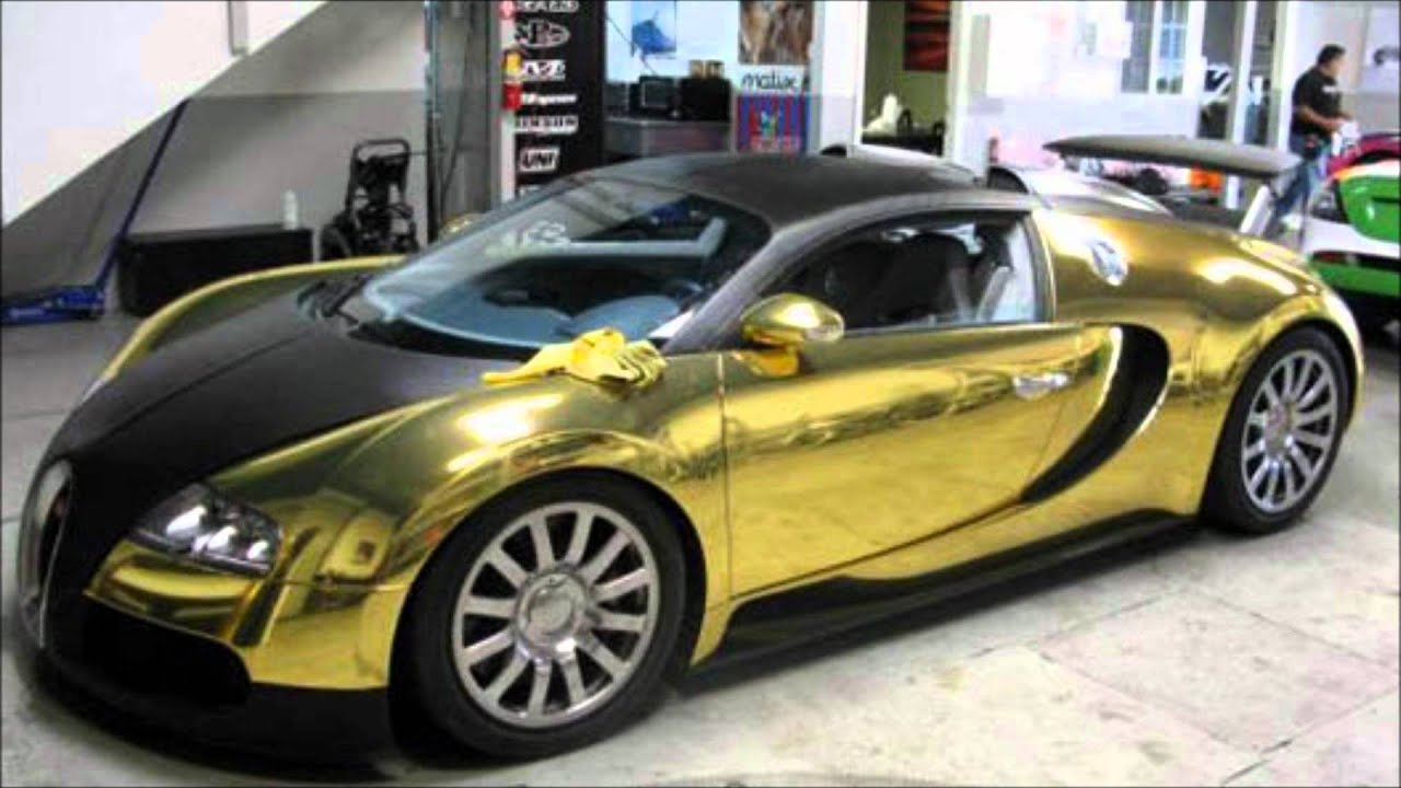 GOLD BUGATTI VEYRON FOUND IN NORTH SEA MUST SEE!! - YouTube