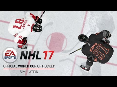 NHL 17 | Official World Cup Of Hockey Simulation | Xbox One, PS4