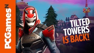 Fortnite season 9 map changes | Neo Tilted, Pressure Plant, and Mega Mall