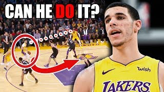 This Is Why Lonzo Ball HELPS LeBron James On The Lakers